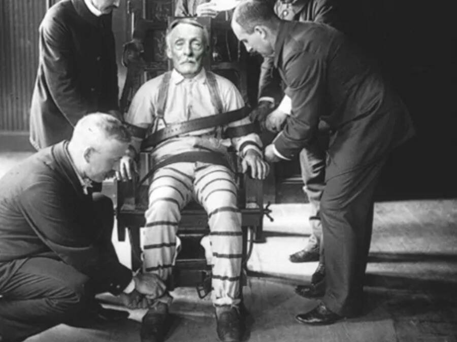 Albert Fish On The Electric Chair