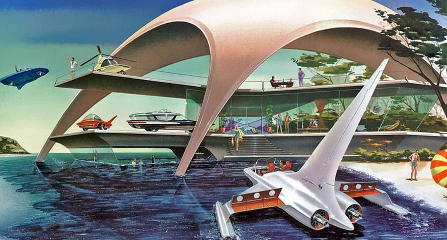 Beach Vacation Of The Future