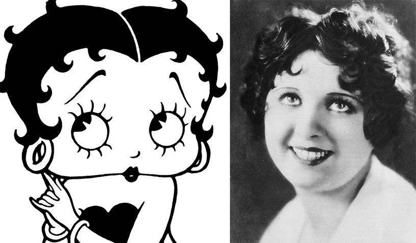 Betty Boop and Helen Kane