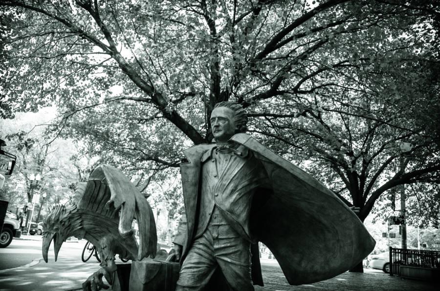 Boston Poe Statue