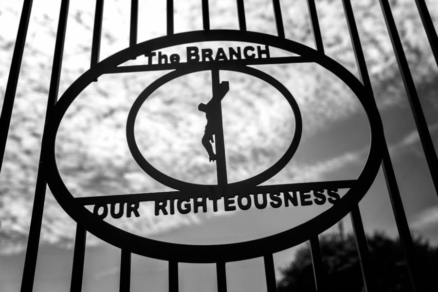 Branch Davidians Gate At Mount Carmel