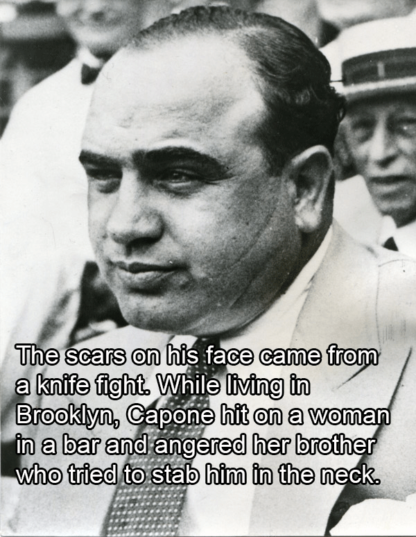 Facts About Al Capone Scars