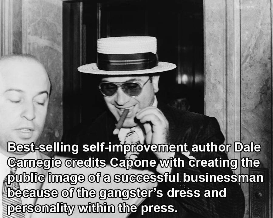 Capone Smoking