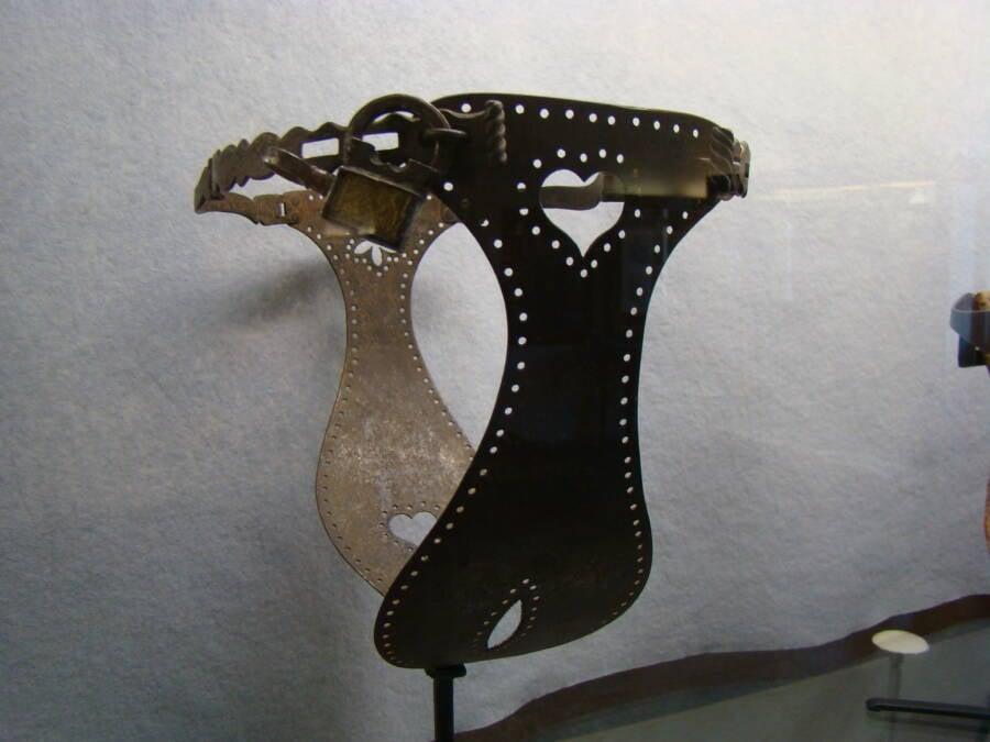 Chastity Belt On Display