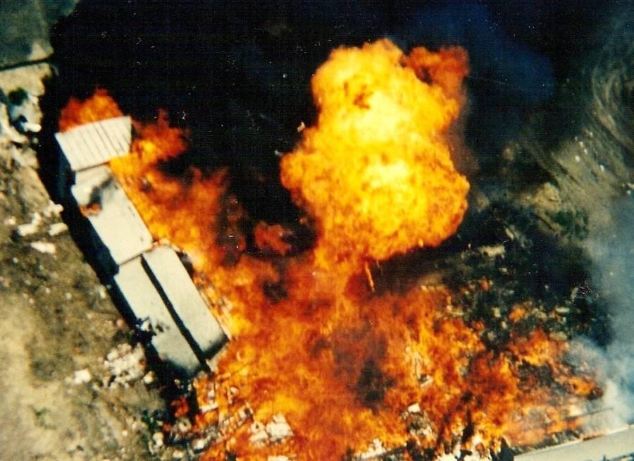 David Koresh Fire