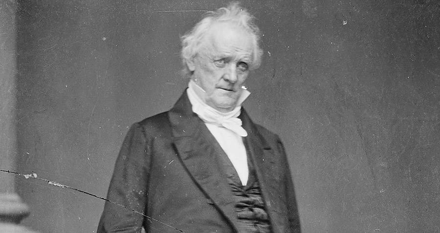 Drinking James Buchanan
