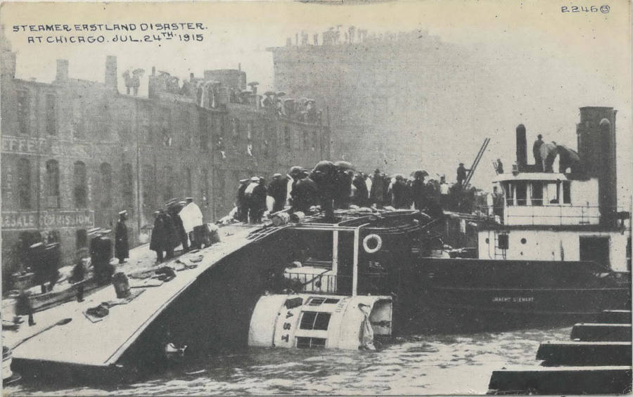 Aftermath Of The SS Eastland Disaster