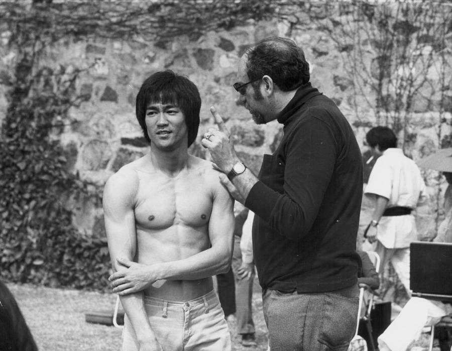 Bruce Lee and Fred Weintraub