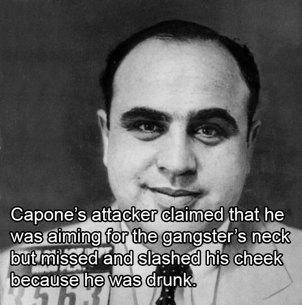 Al Capone Mug Shot