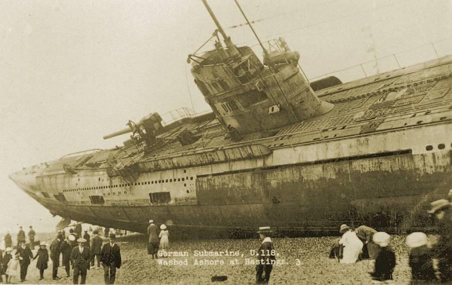 German U-Boat SM U-118