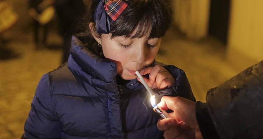 Girl Smoking Portugal