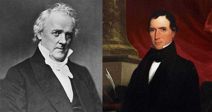 Was James Buchanan gay and with William Rufus King