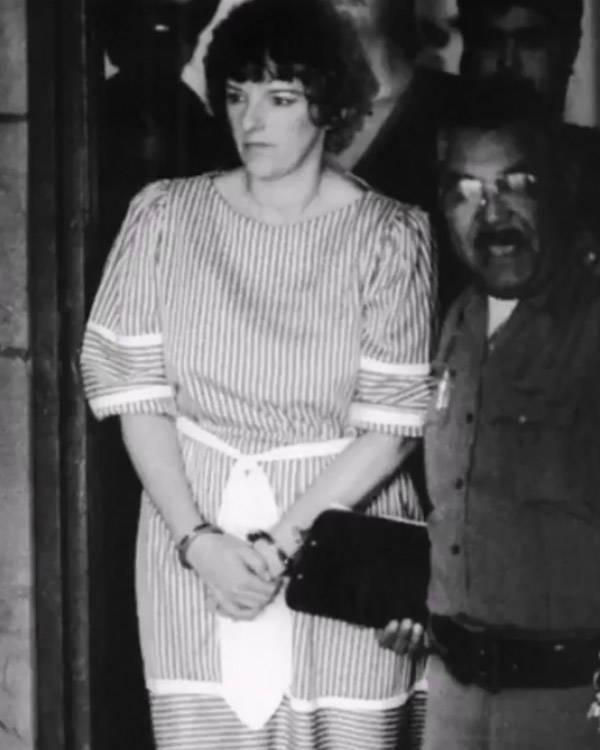 Genene Jones in handcuffs
