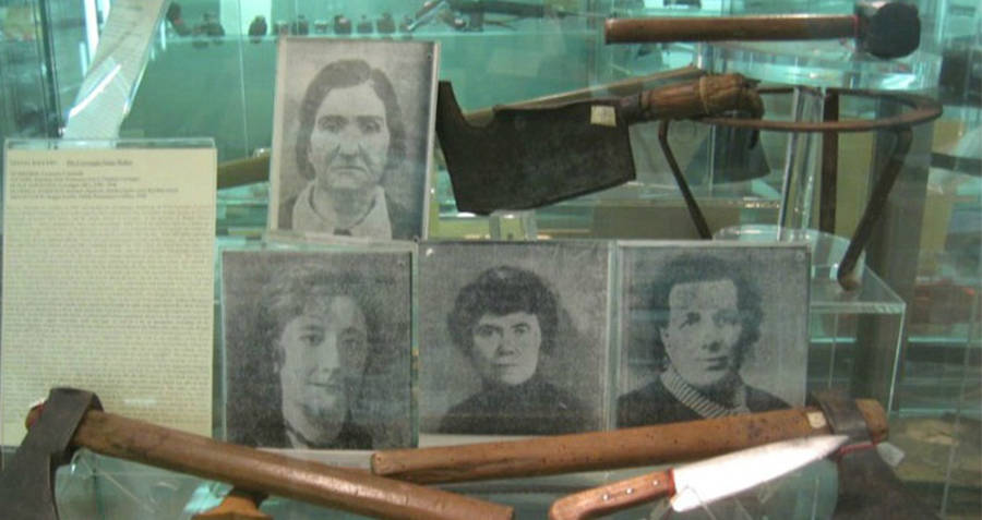Serial Killer Leonarda Cianculli's Weapons