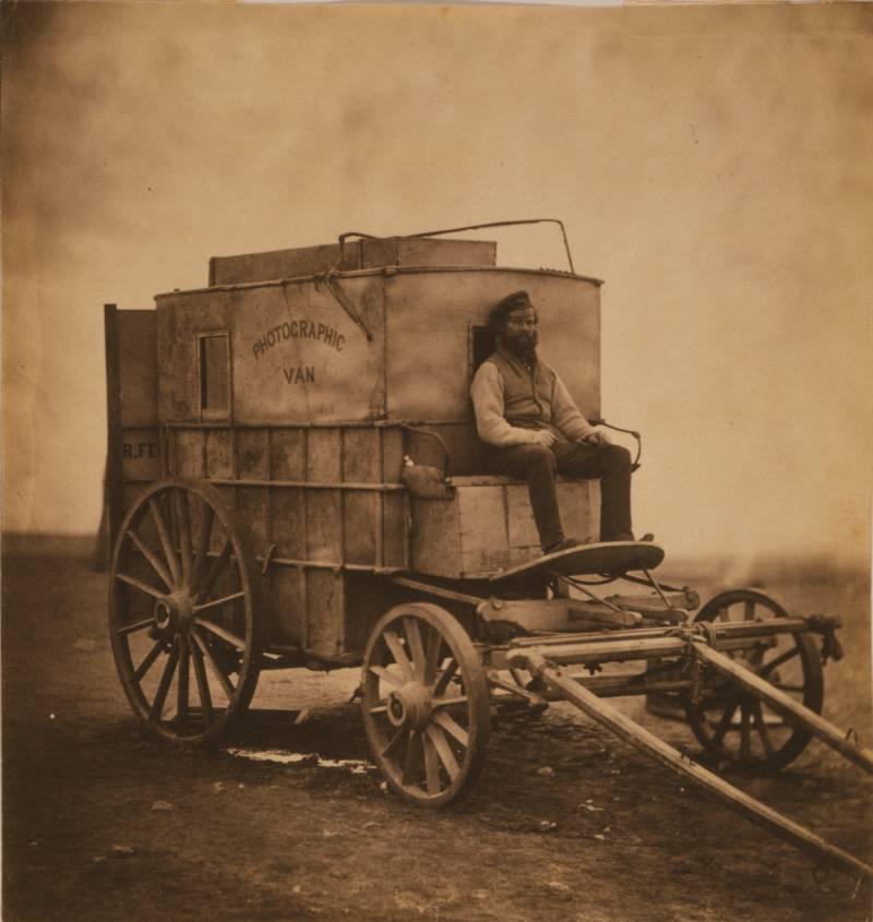 Man With Cart