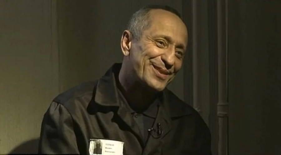 Mikhail Popkov Smiling