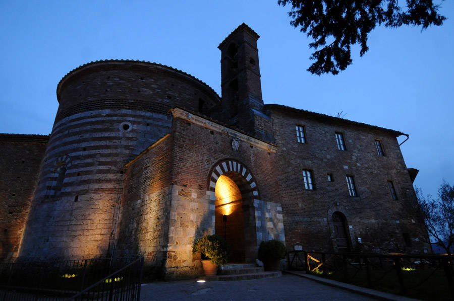 Montesiepi Chapel in Italy