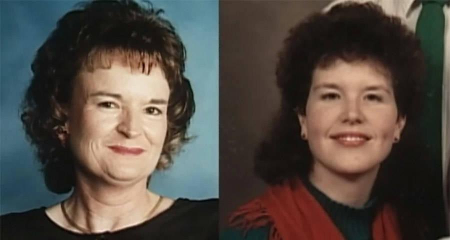 Mary Lou Morris and Mary McGinnis Morris