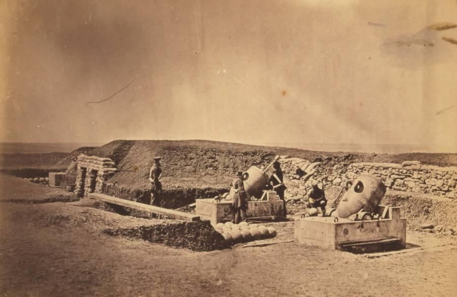 Crimean War Mortar Batteries