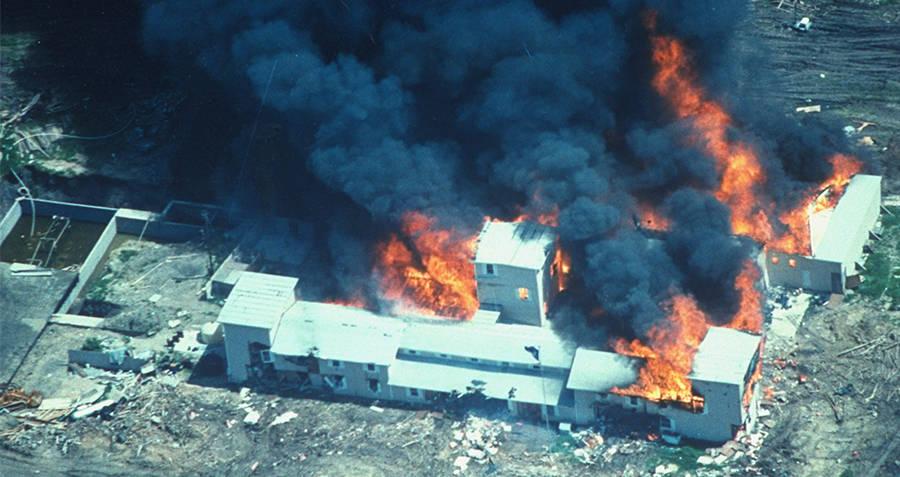Mount Carmel On Fire