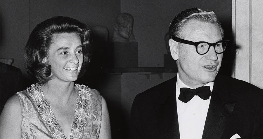 Happy And Nelson Rockefeller