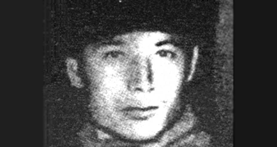 Young Nikolai Dzhumagaliev
