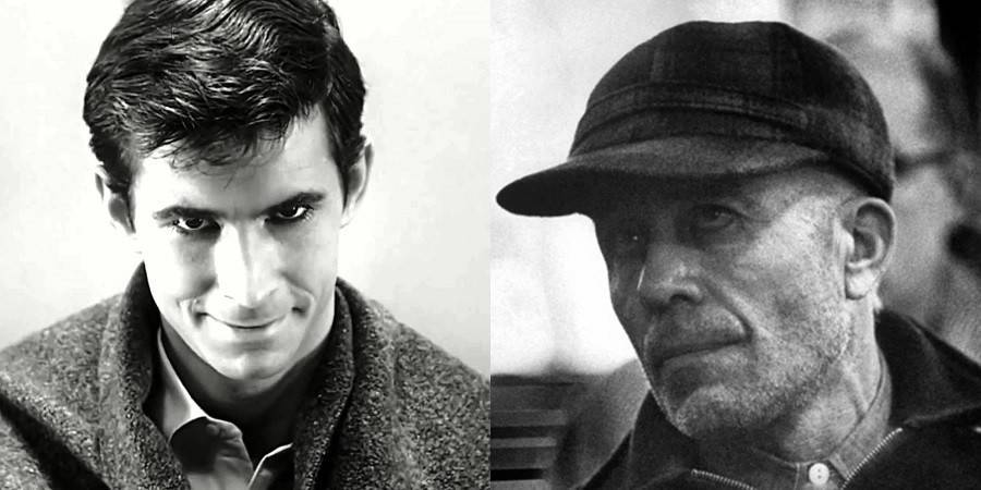 Norman Bates and Ed Gein