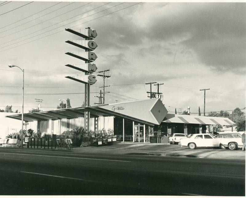 Norms Googie Architecture