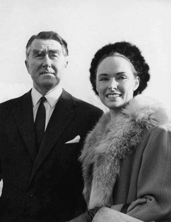 Paddy Roy Bates And Joan Bates