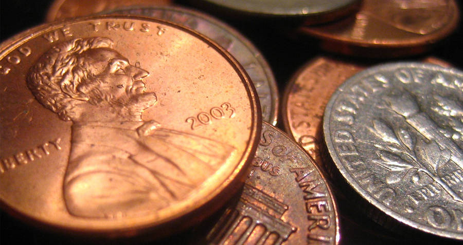 Pennies And Coins