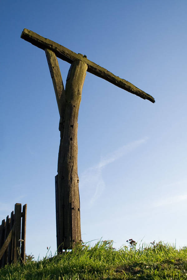 Reconstruction Of A Gibbet
