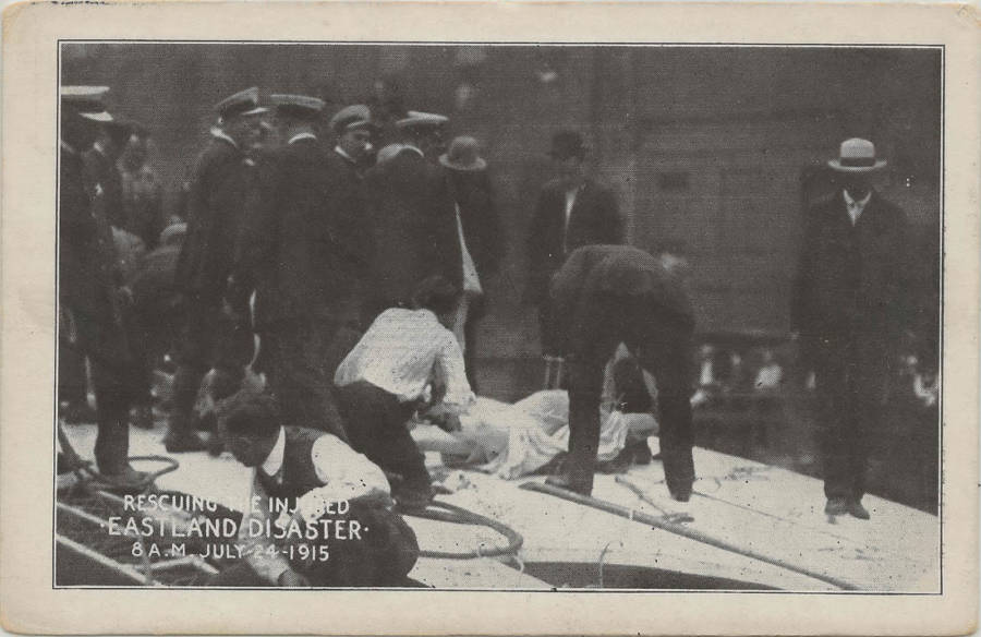 Rescuing People From The SS Eastland