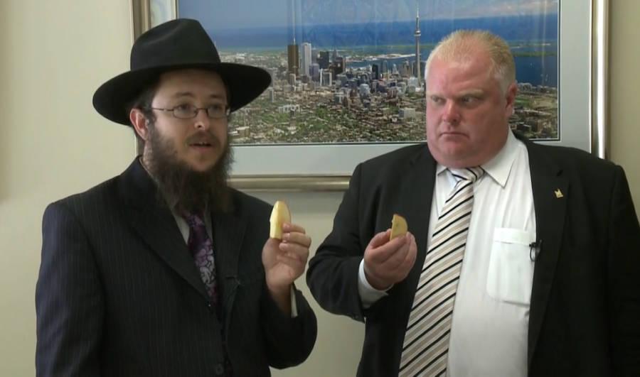 Rob Ford Rosh Hashanah