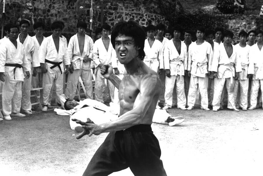 Scene From Enter The Dragon