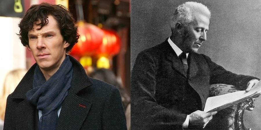 Sherlock Holmes and Dr. Joseph Bell