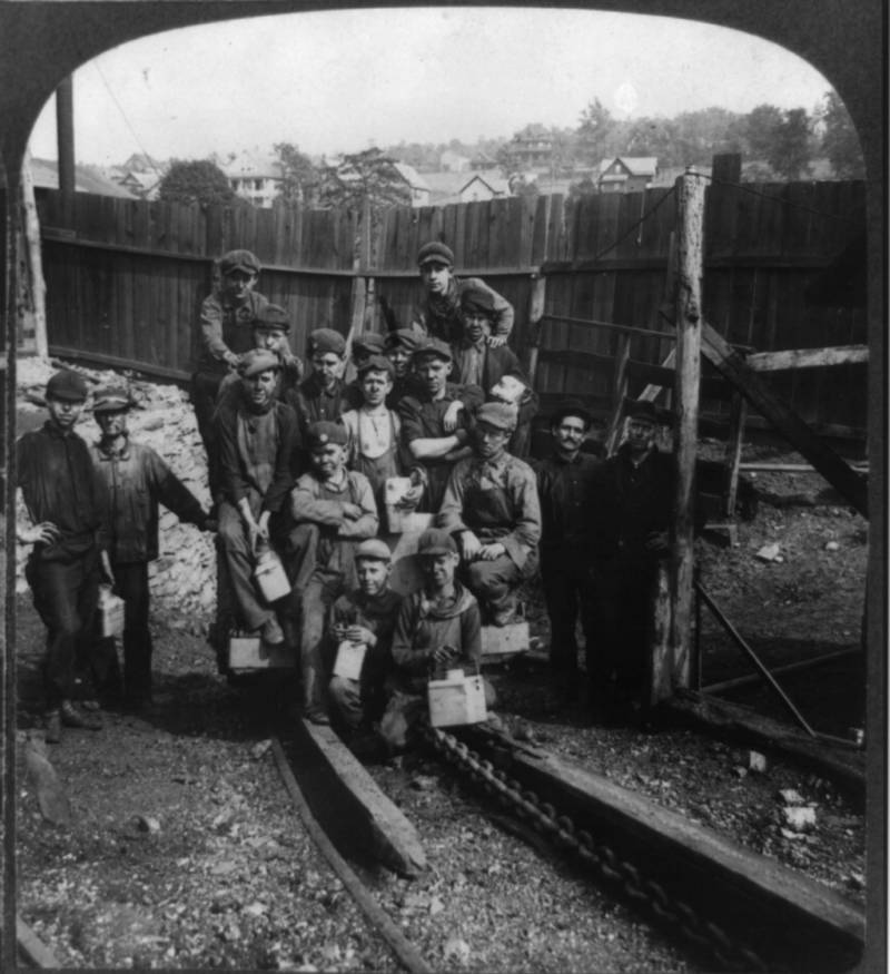 Miners Heading Home