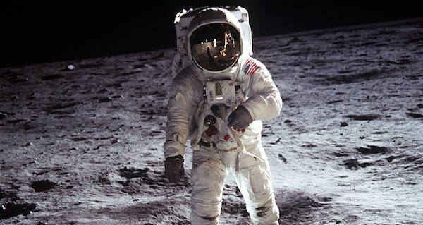 Buzz Aldrin Moon Landing Faked Photo