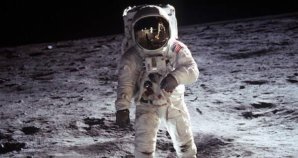 Buzz Aldrin Moon Landing Faked Photo