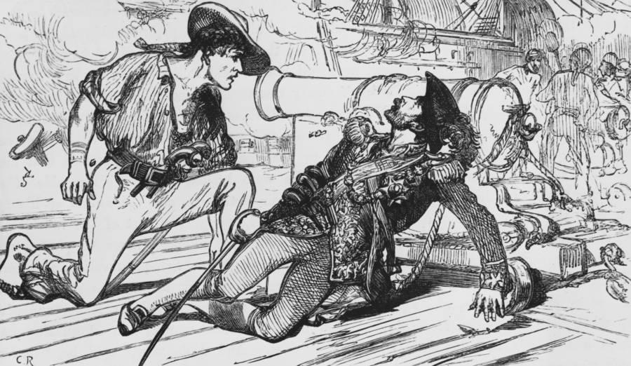 The Death Of Bartholomew Roberts