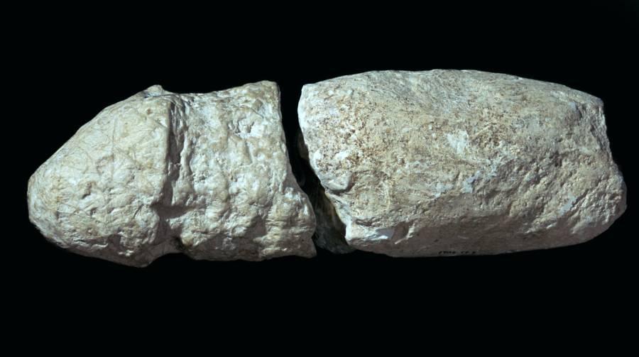 Chalk Phallus