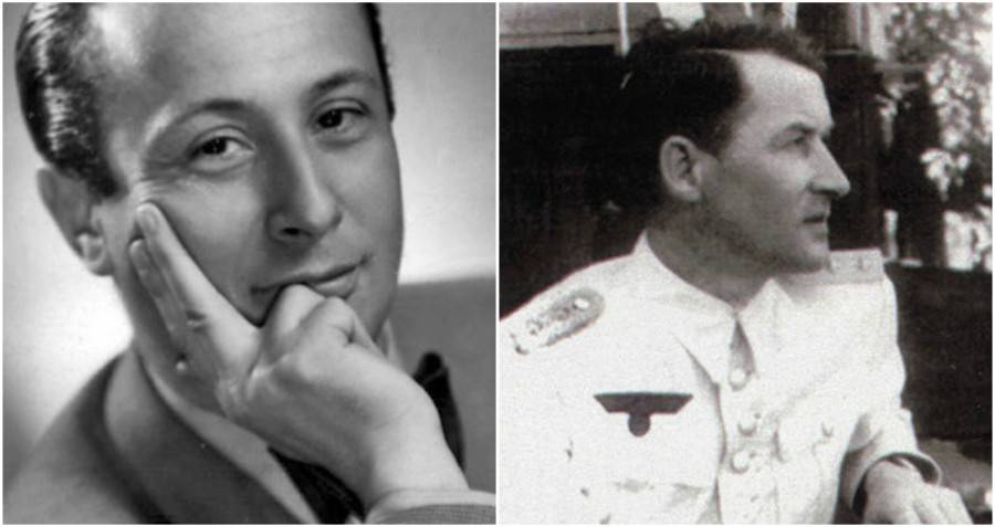 Wladyslaw Szpilman and Officer Wilm Hosenfeld