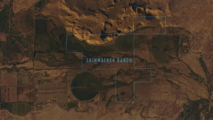 Aerial View Of Skinwalker Ranch