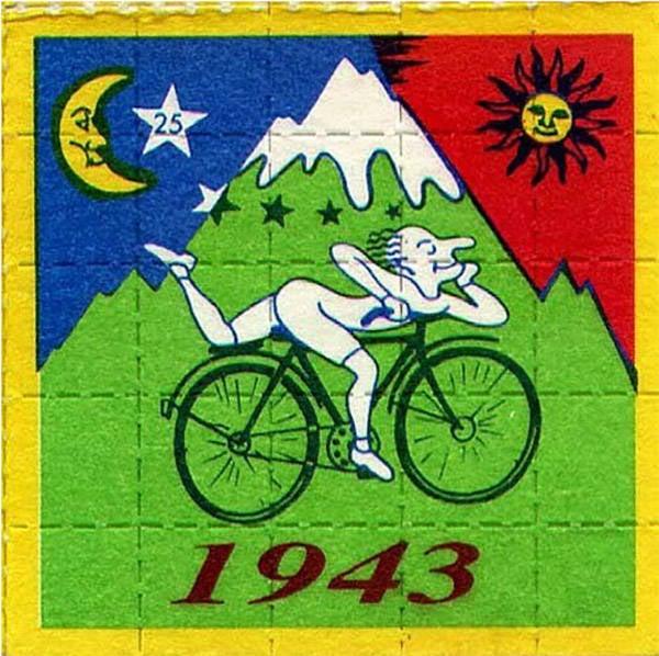 Albert Hofmann LSD Squares