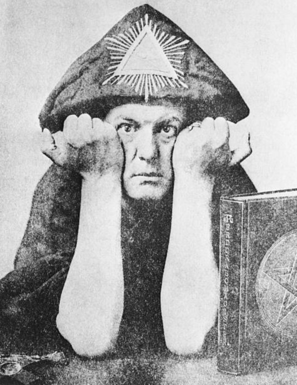 Aleister Crowley In 1921