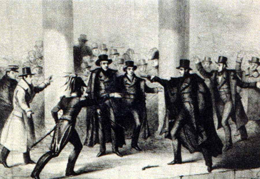 Richard Lawrence Assassination