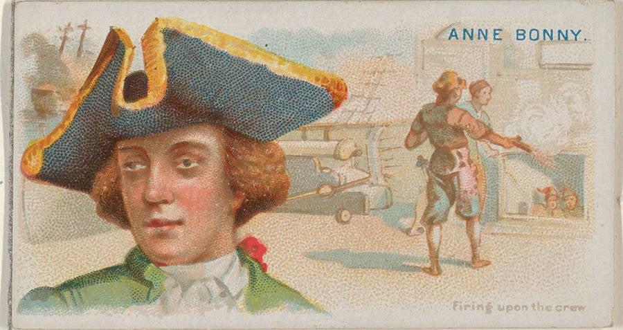 Anne Bonny Shooting Pirate