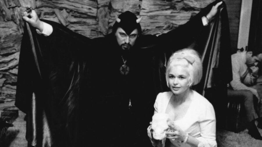 Anton Lavey And Jayne Mansfield