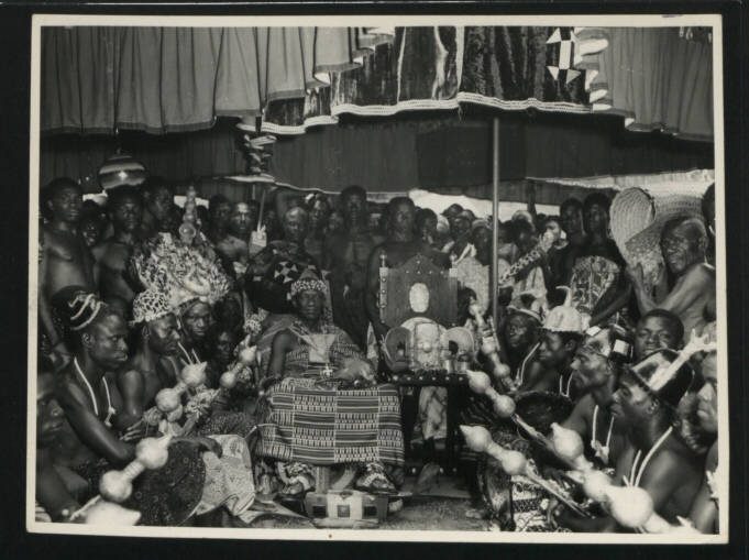 Ashanti Coronation In Kumasi