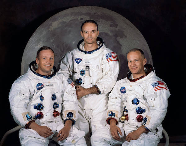 Atronauts Of Apollo 11 Portrait