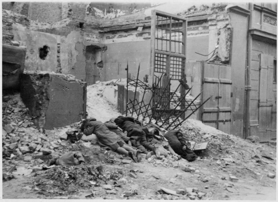Bodies Of Executed Jews